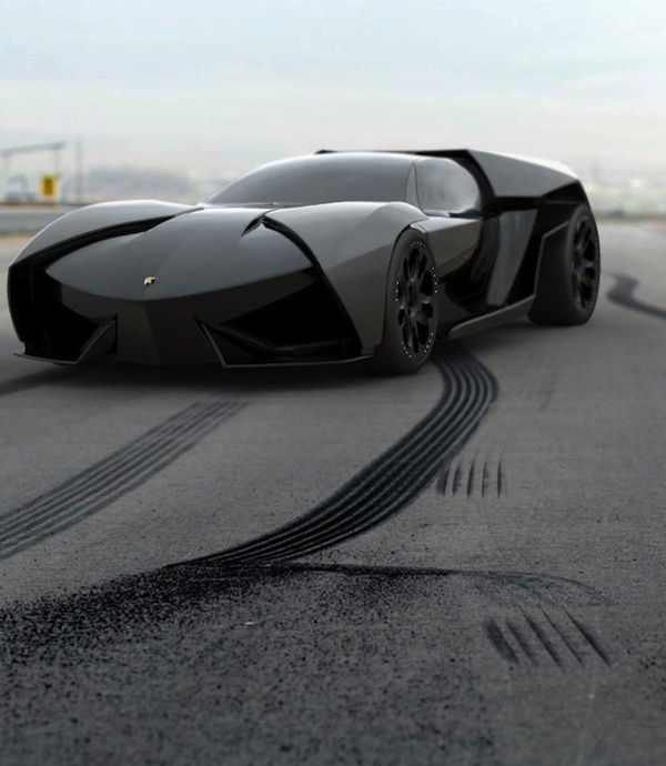 Reventon Meets Batmobile