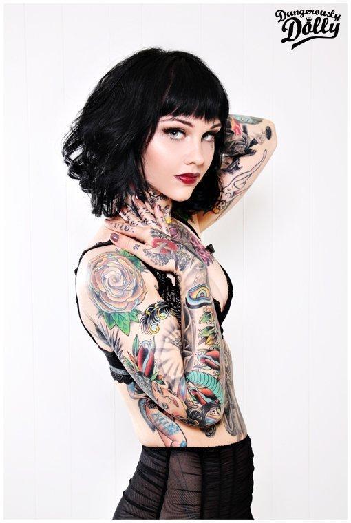 Model & Tattoo Artist: Rachel Anne Aust