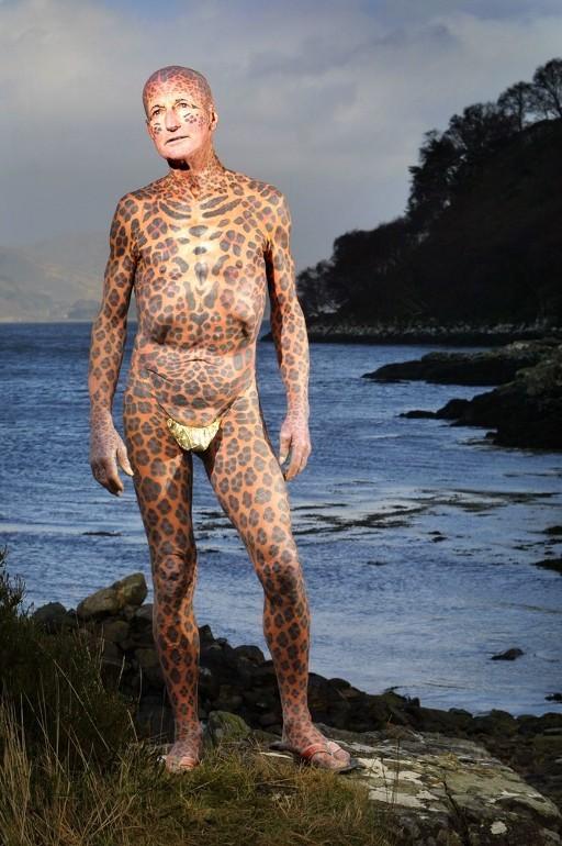 Leopard Man: Tom Leppard