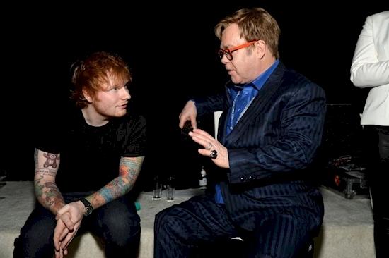 His Mentor is Elton John