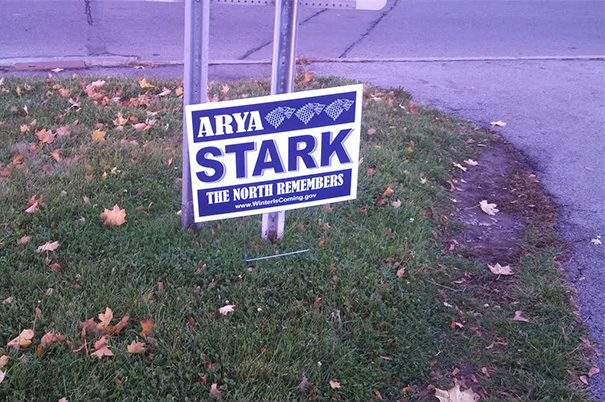 Arya Stark For President