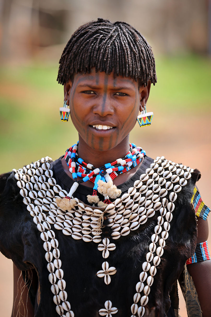 Tsemay Tribe Girl