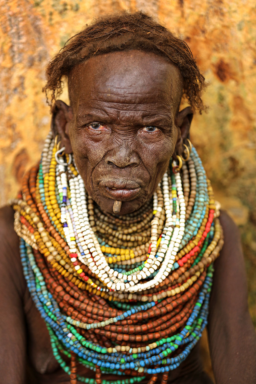 Nyangatom Tribe Woman