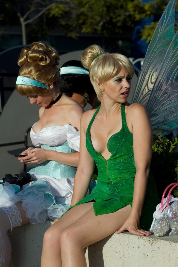 Tinkerbell and Cinderella