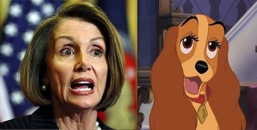 Nancy Pelosi as Lady
