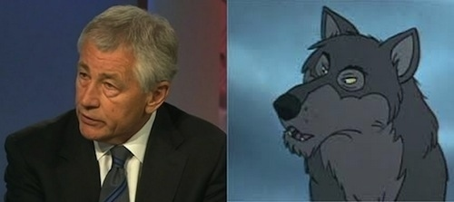 Chuck Hagel as Akela