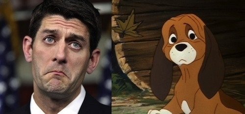 Paul Ryan as Copper