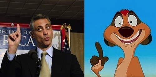 Rahm Emanuel as Timon