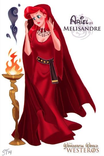 Ariel as Melisandre